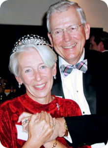Dr. J. Richard Gaintner and his wife